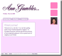 Ann's website - AnnGambles.co.uk
