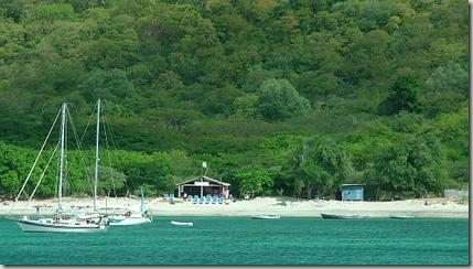 The beach at Union Island